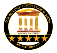 Our Institution is 5-star Rated by Bauer Awarded June 2015